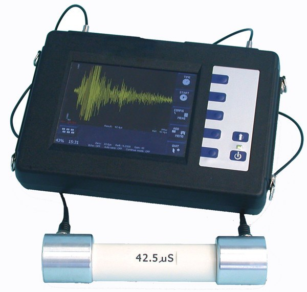 Tool for ultrasonic test on concrete Novasonic - NOVATEST