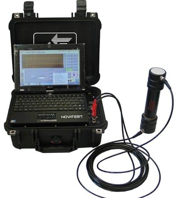 Survey Sonica, Ultrasonic, Cross Hole NOVASONIC Plus - NOVATEST