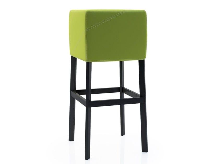 Design upholstered stool CUBE 3.0 - ALMA DESIGN