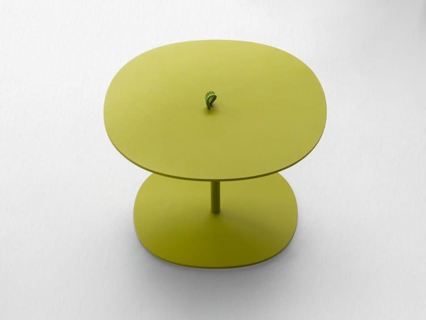 Round garden side table STRAP - Paola Lenti