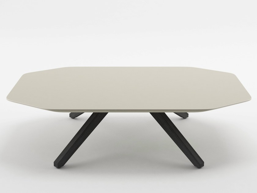 Low MDF coffee table X TABLE | MDF coffee table - ALMA DESIGN