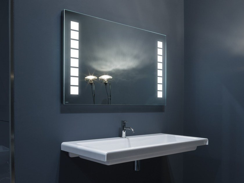 miroir avec clairage int gr pour salle de bain ciok by antonio lupi design design studio. Black Bedroom Furniture Sets. Home Design Ideas