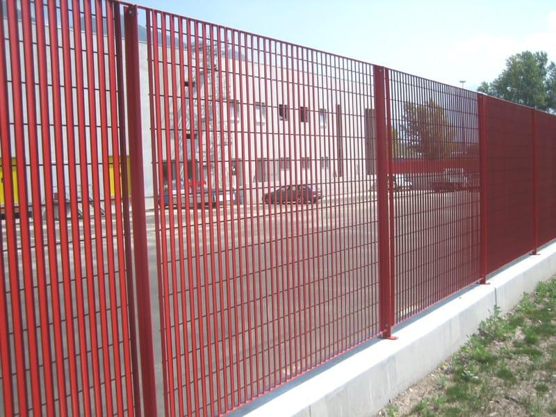 Modular steel Fence SOLAR - GRIGLIATI BALDASSAR