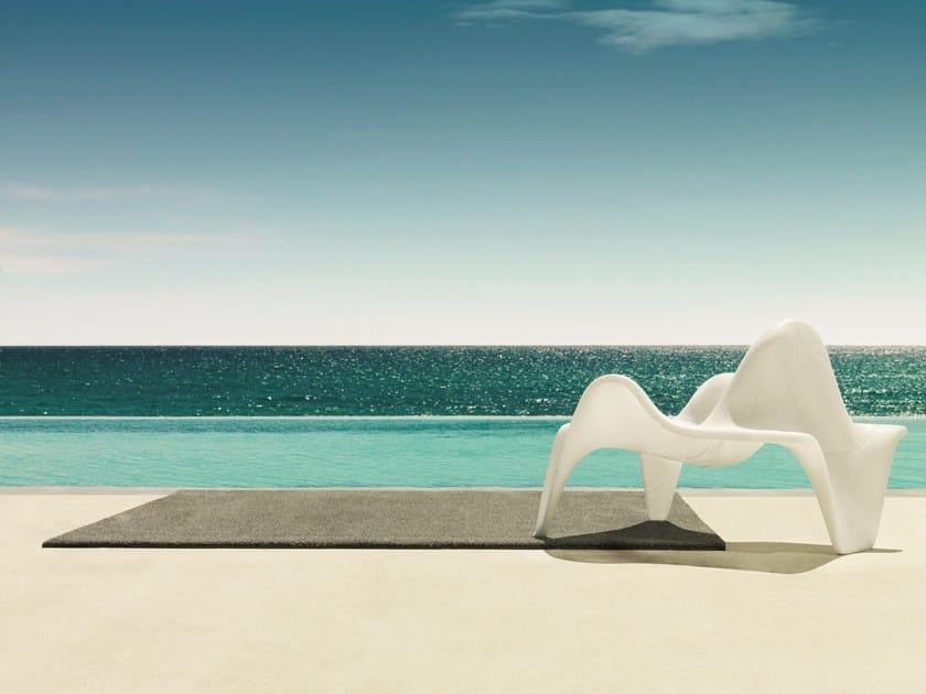 Solid-Color Rectangular outdoor rug LISA - VONDOM