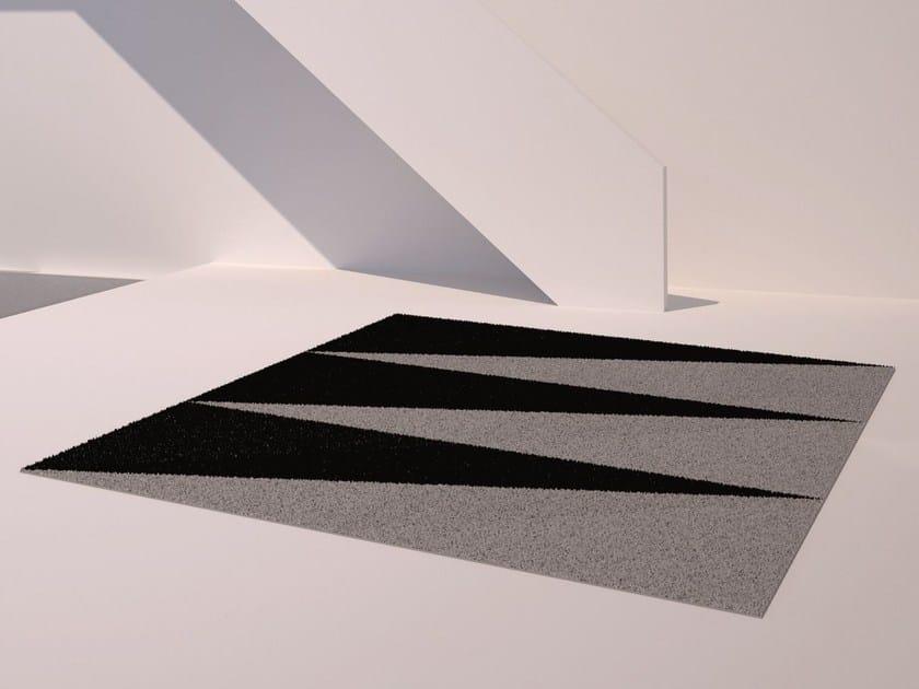 Rectangular outdoor rug with Geometric Shapes OVERLAP - VONDOM