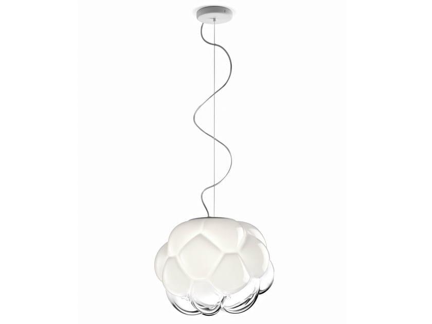 Glass pendant lamp CLOUDY | Pendant lamp by Fabbian