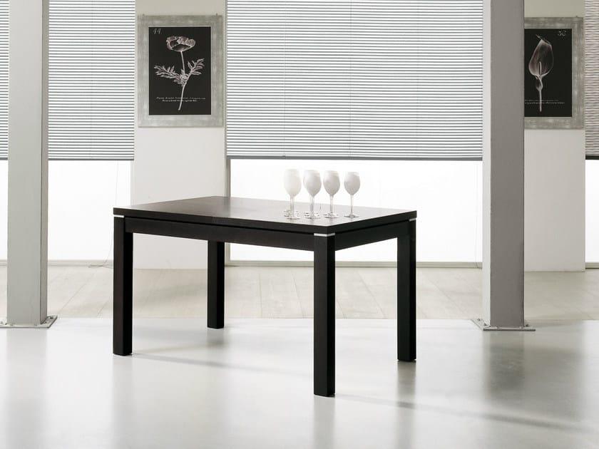 Dining rectangular table