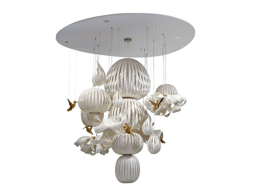 Polywood® pendant lamp CANDELABRO S by LZF