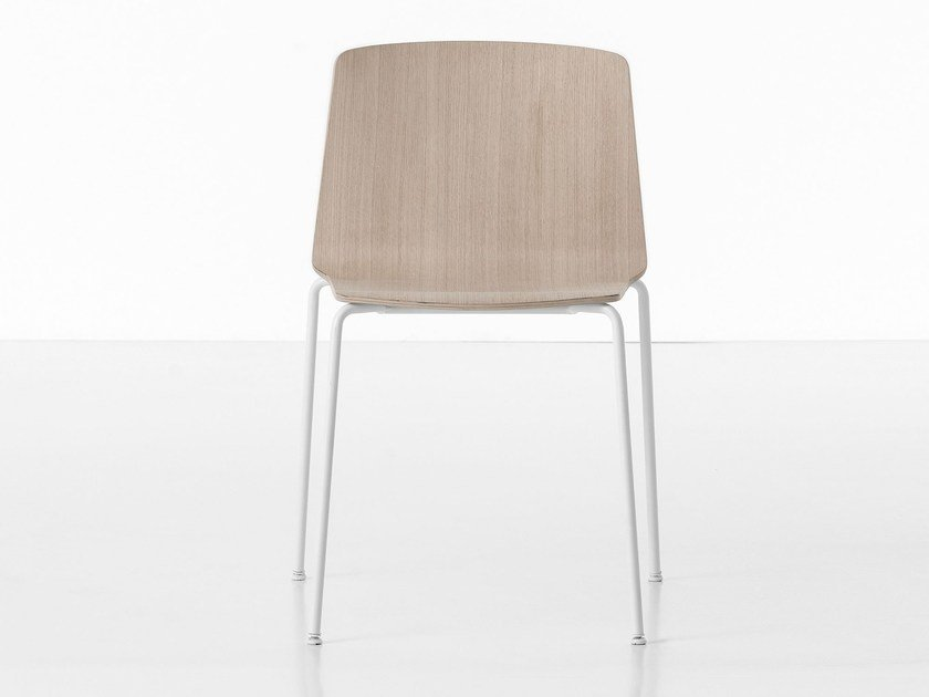 Stackable chair RAMA | Chair by Kristalia