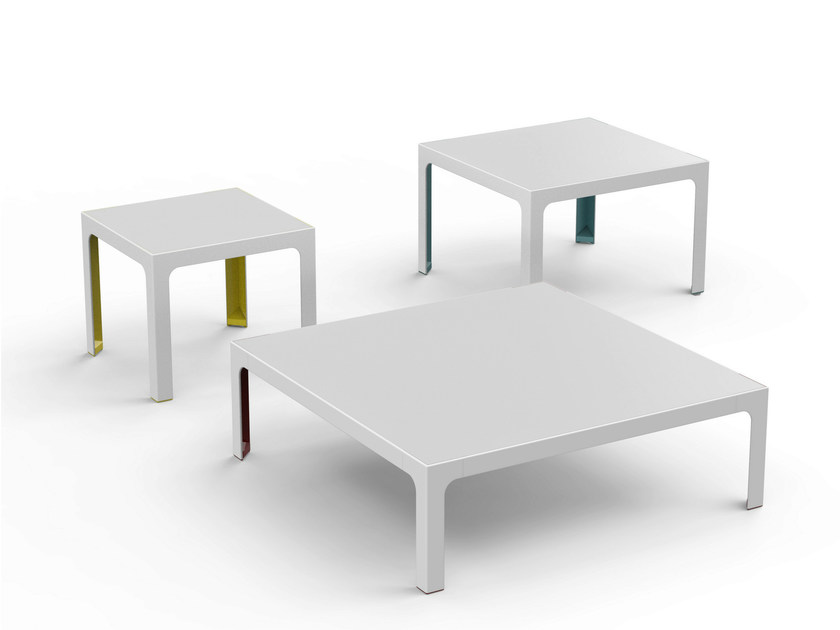 Low metal coffee table MORE 45 | Coffee table by ESTEL GROUP