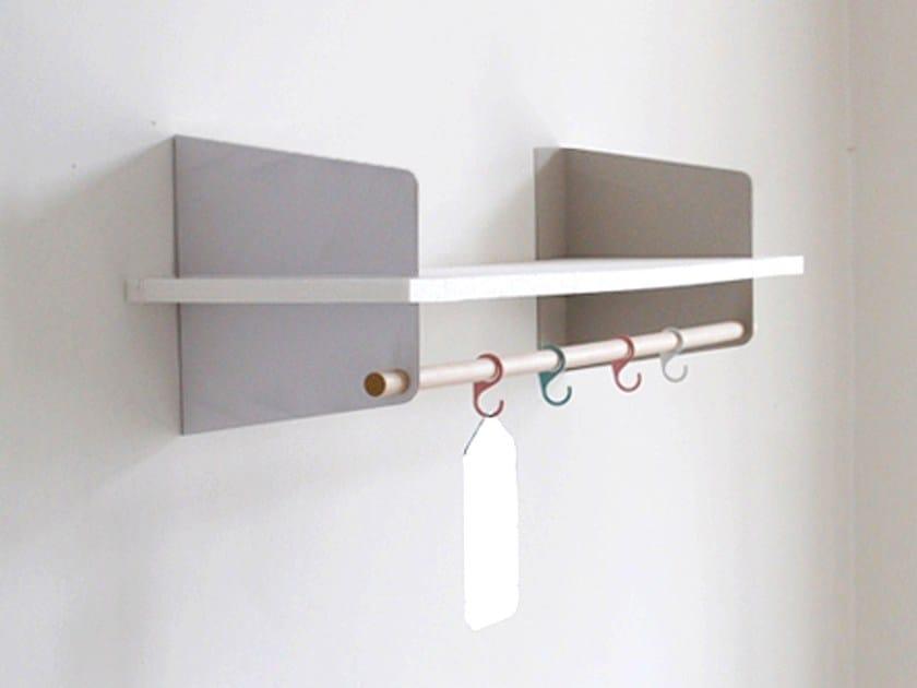 Stainless steel wall shelf ATELIER - Richard Lampert
