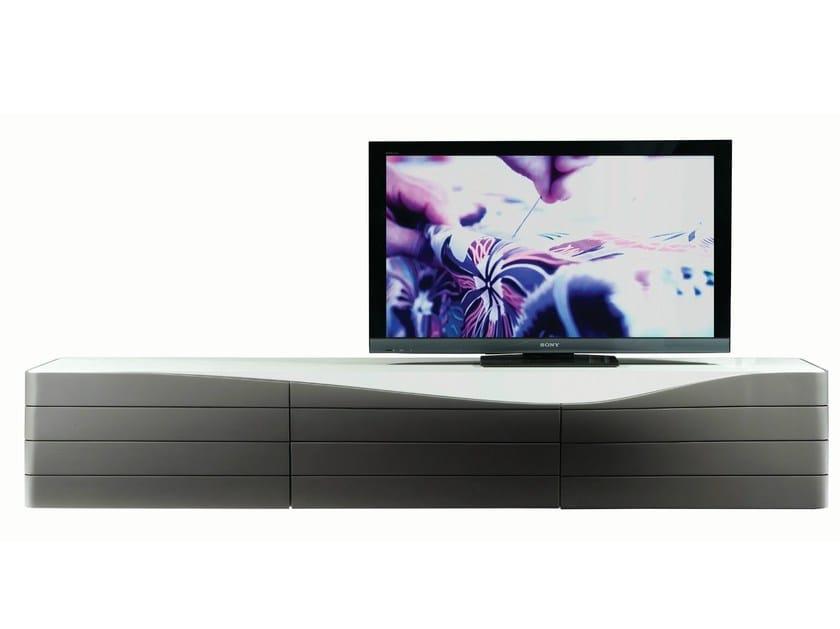 mobile basso tv : Mobile TV basso laccato in MDF ORA ITO Mobile TV - ROCHE BOBOIS