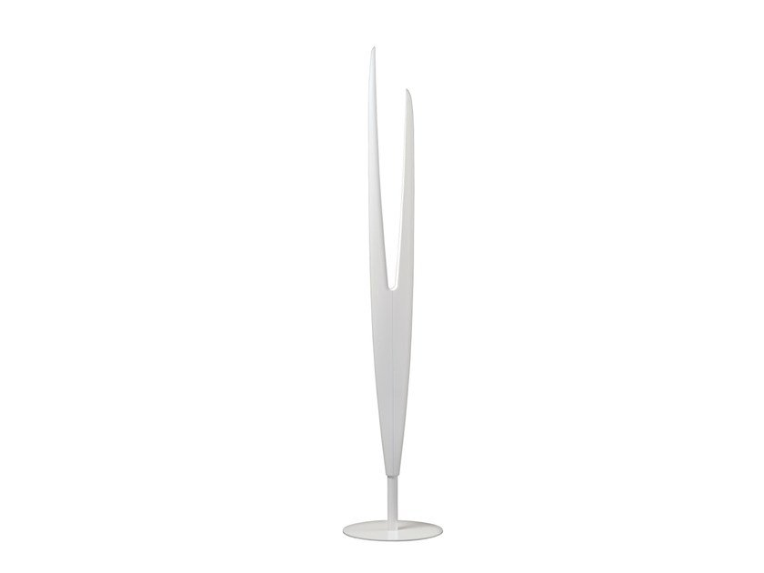 LED aluminium floor lamp MILLELUMEN SCULPTURE | Floor lamp by millelumen