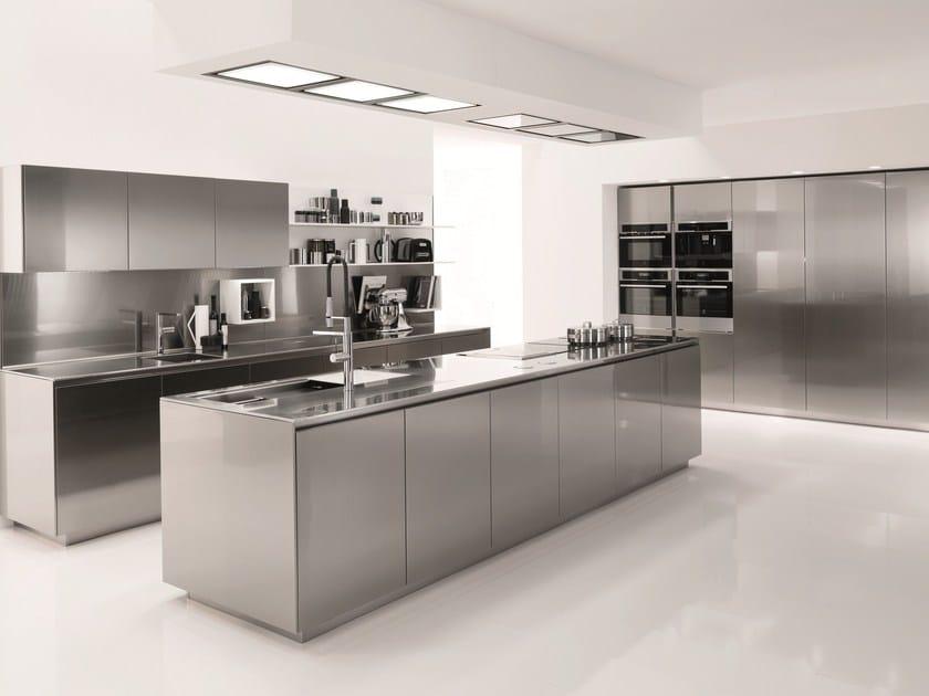 cucina in acciaio inox filofree steel - euromobil - Steel Cucine Prezzi
