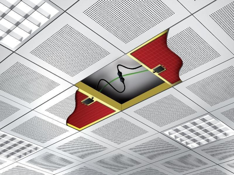 Radiant ceiling panel MODULO by ATH Italia
