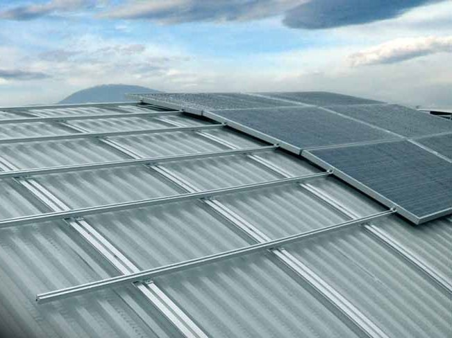Metal sheet and panel for roof ENERAL - Alubel