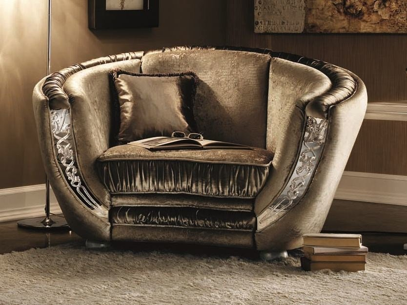 Classic style upholstered armchair MIRÒ | Armchair - Arredoclassic