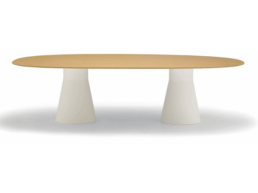Oval meeting table REVERSE | Meeting table - Andreu World