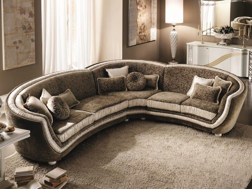 Classic style corner sofa MIRÒ | Corner sofa by Arredoclassic