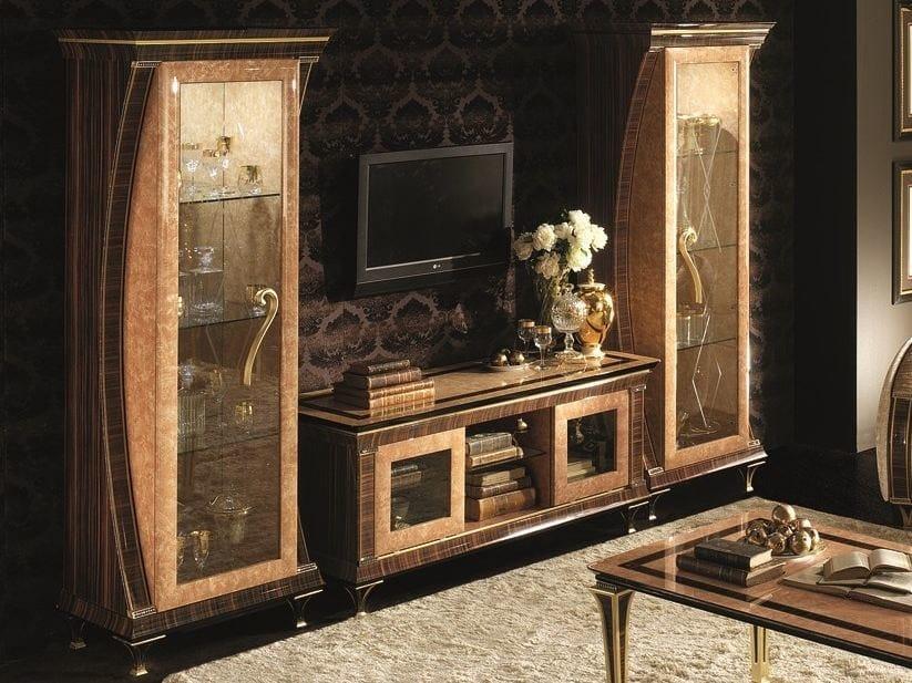 Deco low modular TV cabinet ROSSINI   TV cabinet - Arredoclassic