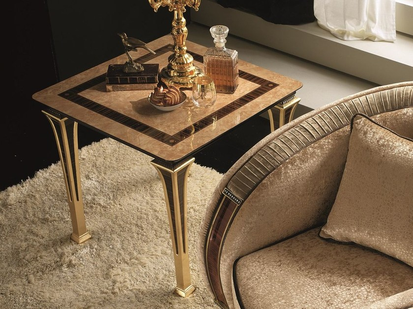 Deco square side table ROSSINI | Side table - Arredoclassic