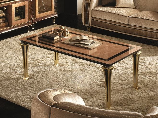 Deco low coffee table for living room ROSSINI | Coffee table - Arredoclassic