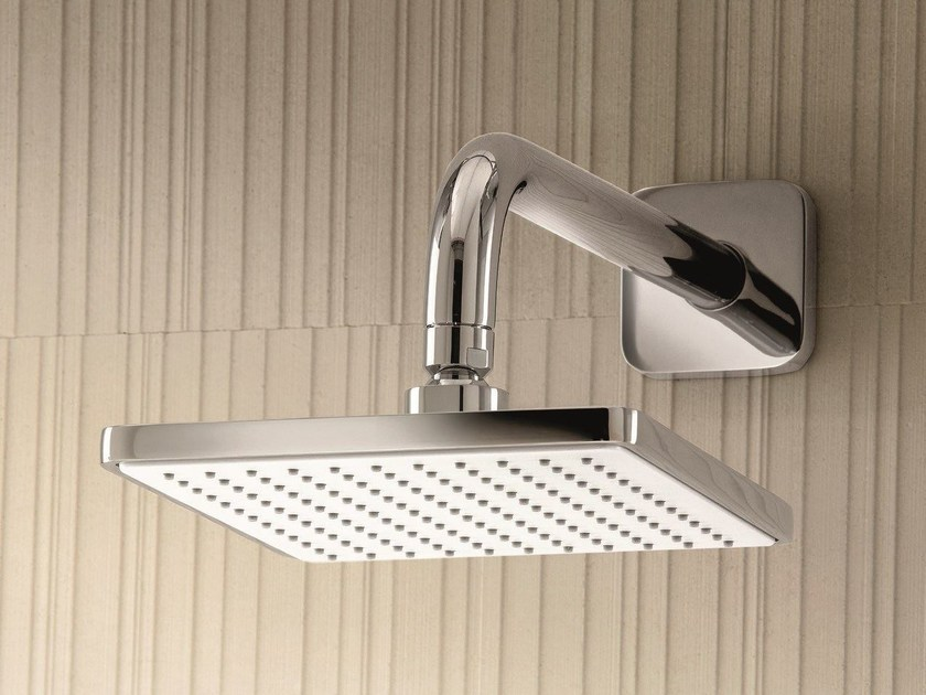 Wall-mounted overhead shower with anti-lime system Overhead shower with anti-lime system by Fantini Rubinetti