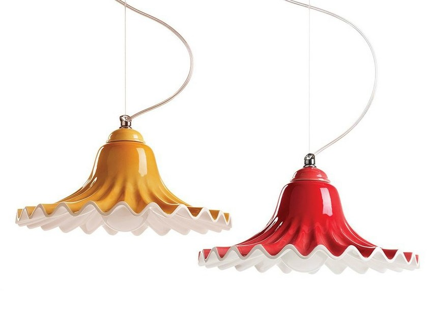 Ceramic pendant lamp LISA by ILIDE