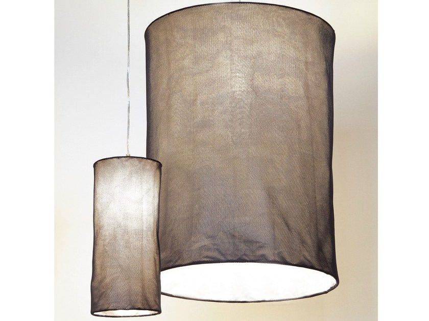 Design synthetic material pendant lamp HONEYCOMB - Innermost