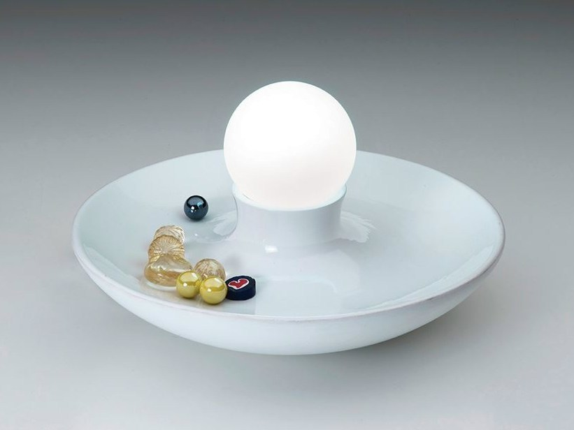 Table lamp / pin tray BOLETO NIGHT - ILIDE italian light design