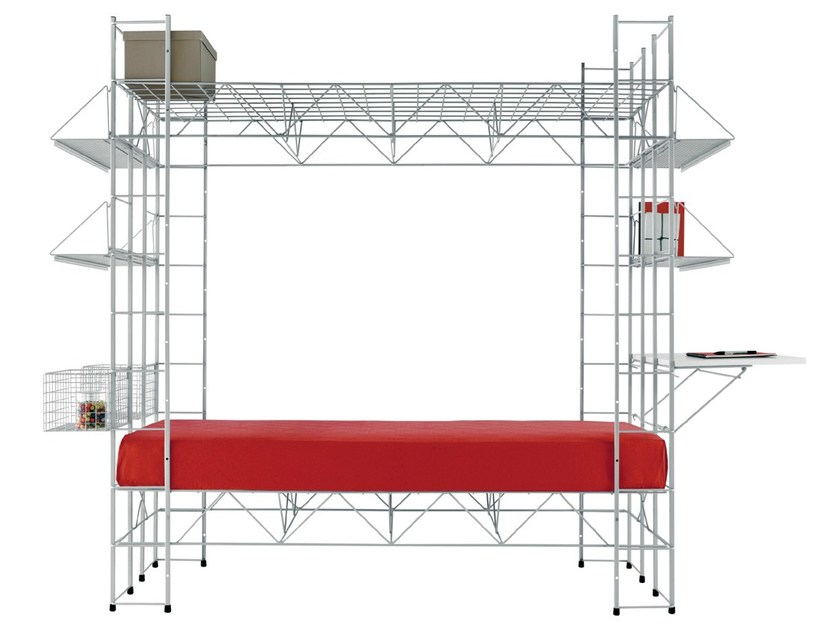 Steel bed ABITACOLO - REXITE