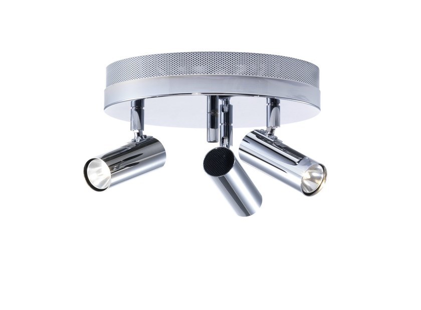 Adjustable metal ceiling lamp PUCK | Ceiling lamp - Örsjö Belysning