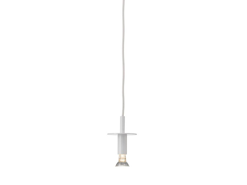 Direct light enamelled metal pendant lamp STAR | Enamelled metal pendant lamp - Örsjö Belysning
