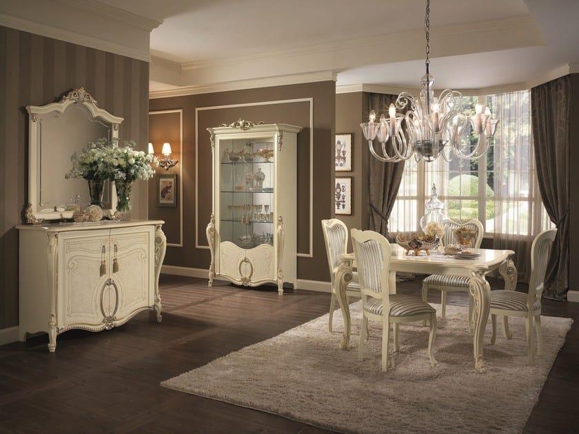 Tavolo da salotto in stile classico tiziano tavolo da for Arredamento salone classico