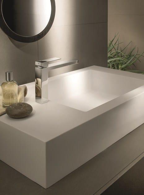 Miscelatore per lavabo da piano monoforo mint for Rubinetti per lavabo