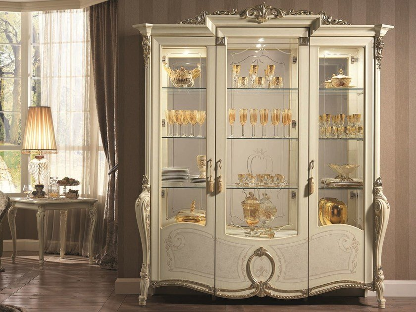 Classic style display cabinet TIZIANO   Display cabinet - Arredoclassic