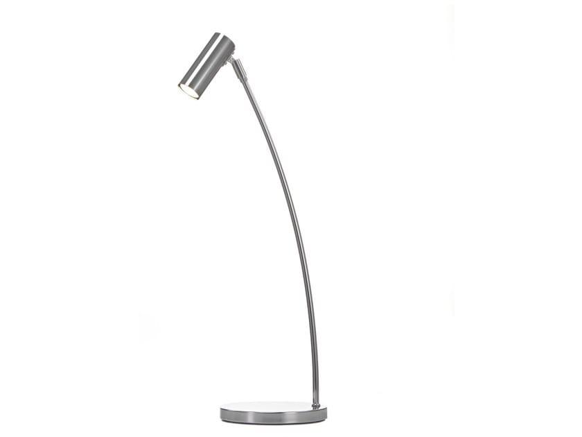 Adjustable metal table lamp PUCK | Table lamp by Örsjö Belysning