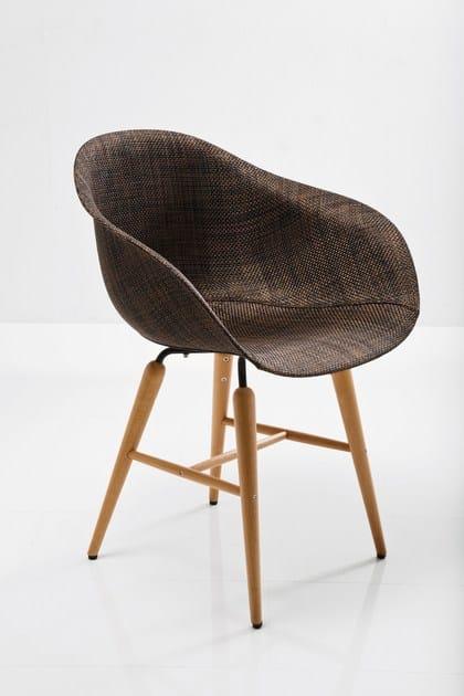 sedia in acciaio forum sedia in legno by kare design