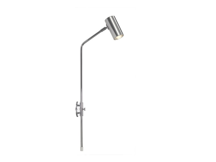 Wall-mounted chrome plated spotlight MINIPOINT | Wall-mounted spotlight - Örsjö Belysning