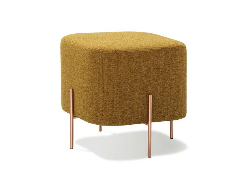 Upholstered fabric pouf ELEPHANT | Pouf by SANCAL