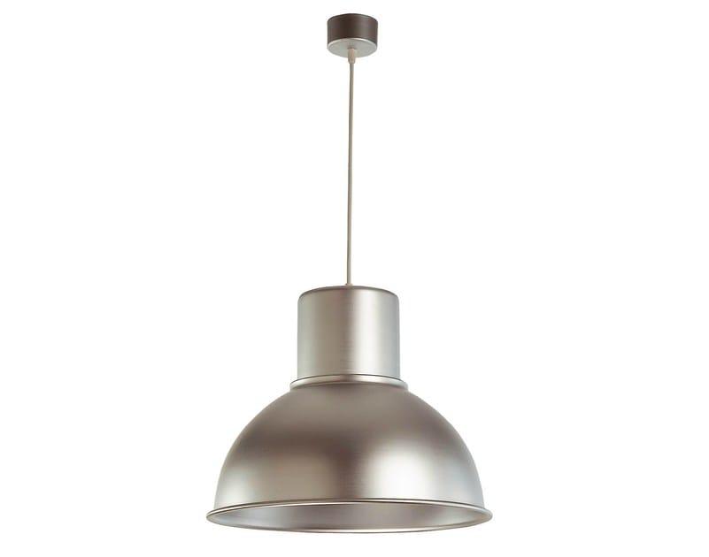 Direct light aluminium pendant lamp FUFI - KRIPTONITE