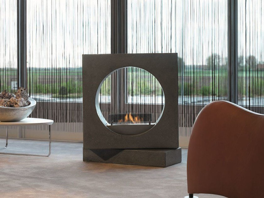 Outdoor bioethanol fireplace MILANO by BRITISH FIRES