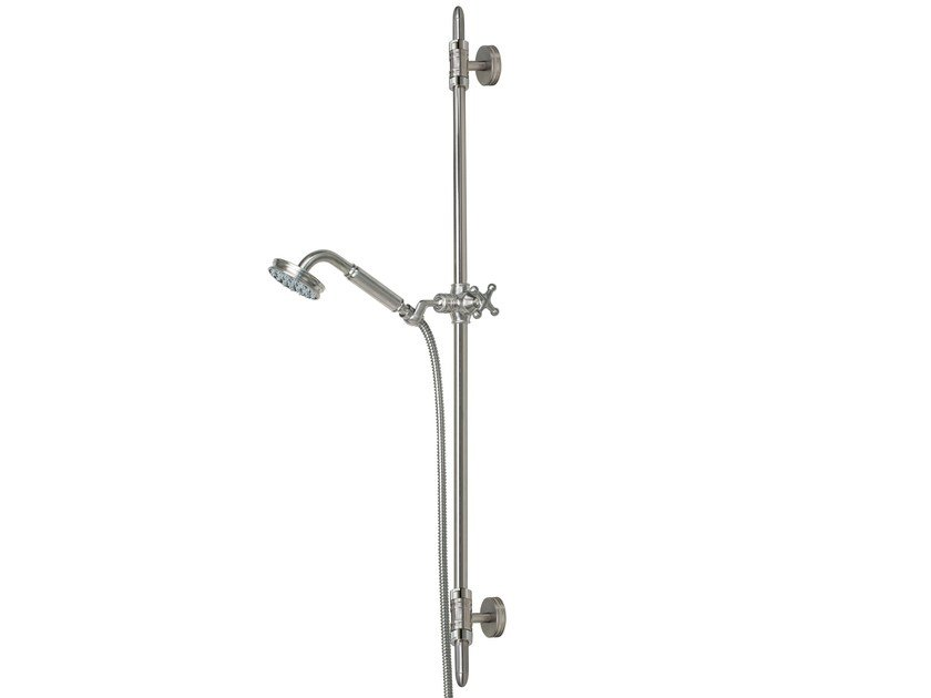 Shower wallbar with hand shower LIBERTY | Shower wallbar - Bossini