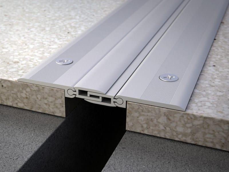 Aluminium Flooring joint NOVOJUNTA PRO® AL30 by EMAC Italia