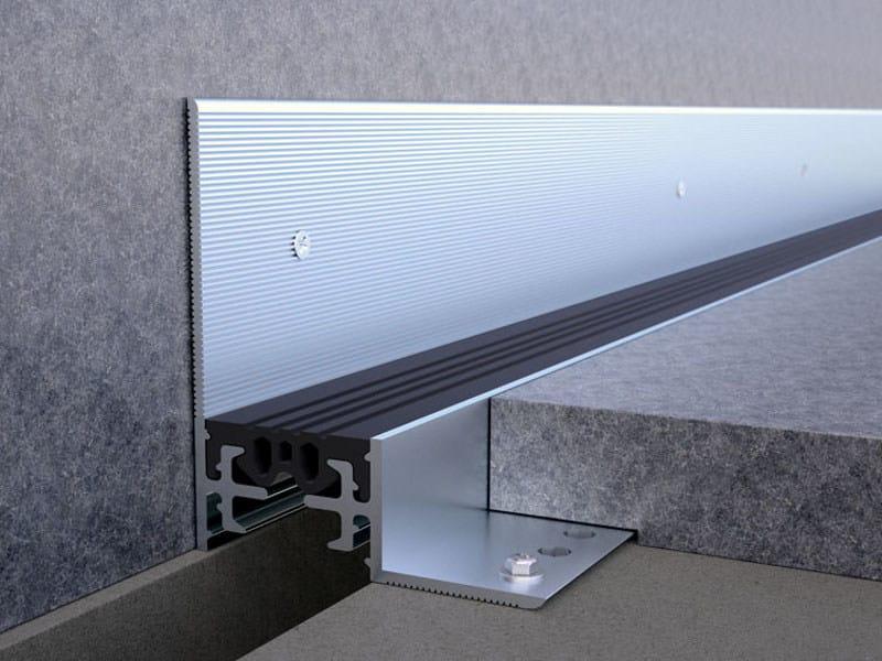 Aluminium Flooring joint NOVOJUNTA PRO® PERIMETER - EMAC Italia