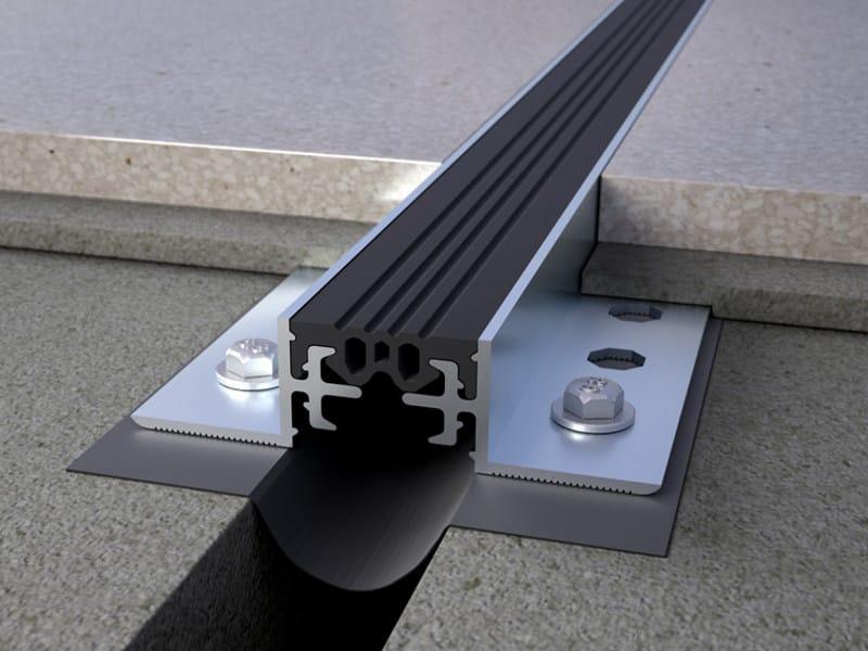 Aluminium Flooring joint NOVOJUNTA PRO® ALUMINIUM - EMAC Italia