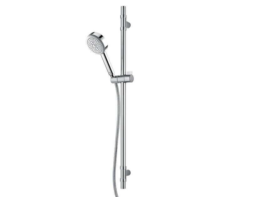 Brass shower wallbar with hand shower DA3 HOKEY - Bossini