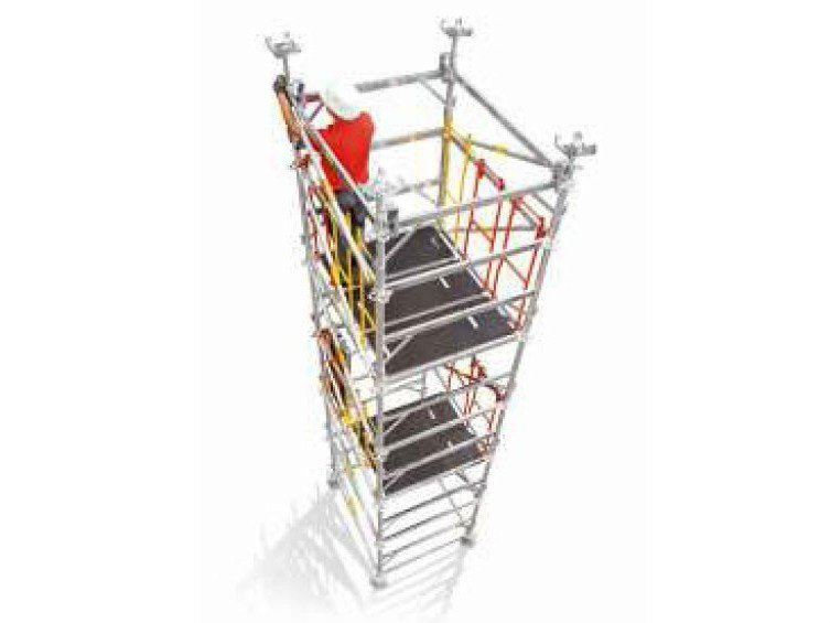 Tubular structure and scaffolding PERI UP MDS - PERI