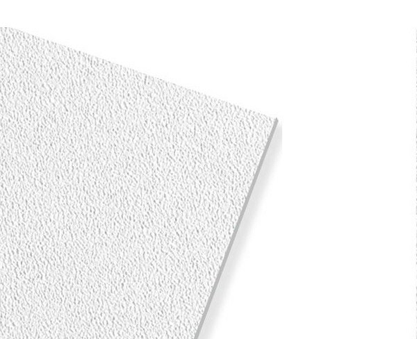Plasterboard ceiling tiles THERMATEX THERMACLEAN S by Knauf Italia