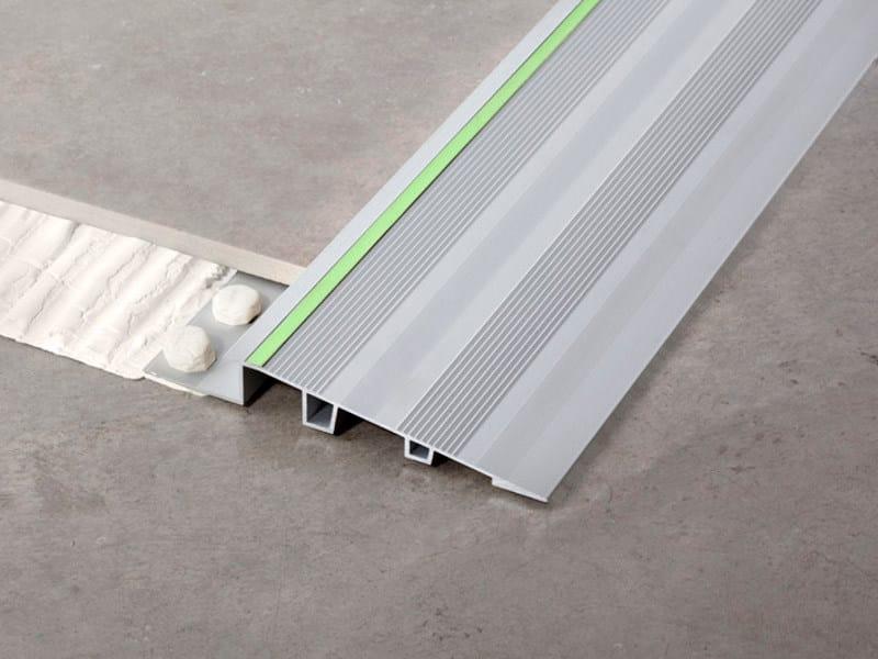 Aluminium flooring profile NOVONIVEL® FORTE LUMINA - EMAC Italia